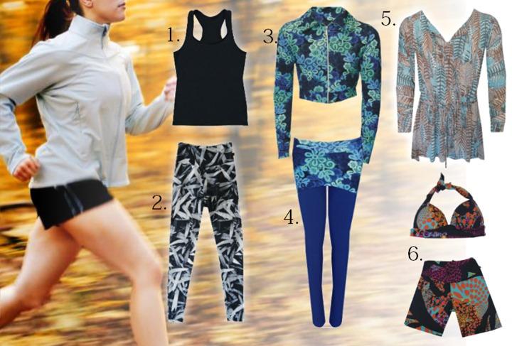roupas para academia moda fitness dentro dagua