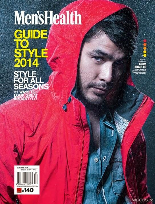 Atom Araullo Men's Health Philippines cover