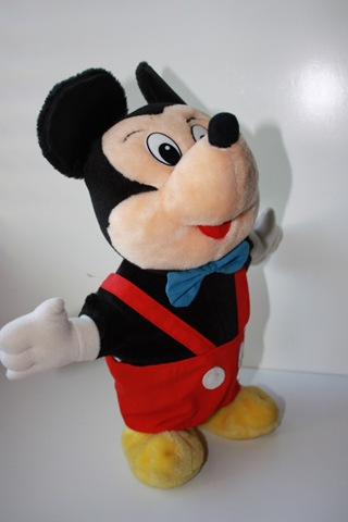 Mickey little boppers toy 1987 big