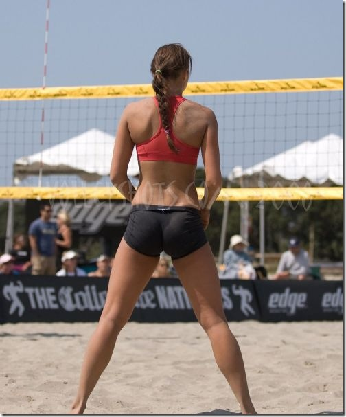 sexy girls volleyball shorts 6