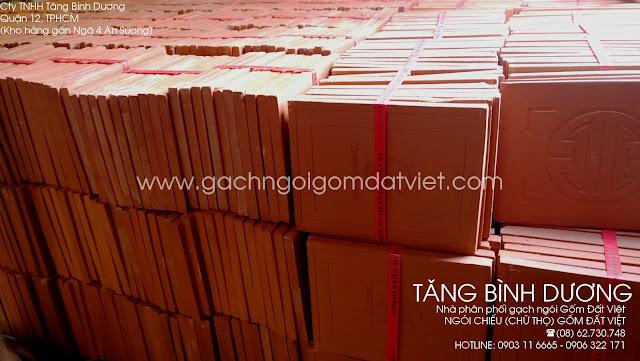 Ngói chữ thọ (ngói chiếu) Gốm Đất Việt