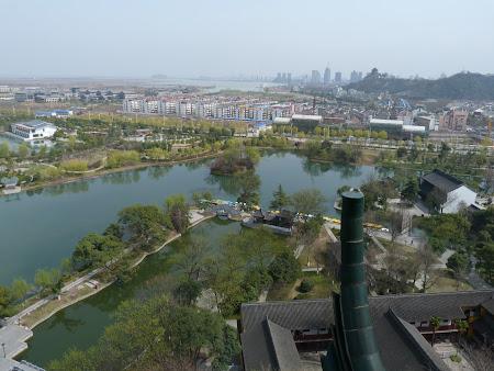 Obiective turistice Zhenjiang: zona lacuri Jinshan