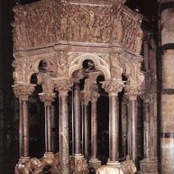78 - Nicolas Pisano - Pulpito del Baptisterio de la Catedral de Pisa