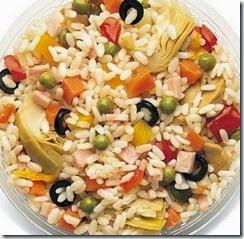 Insalata di riso alla Piemontese