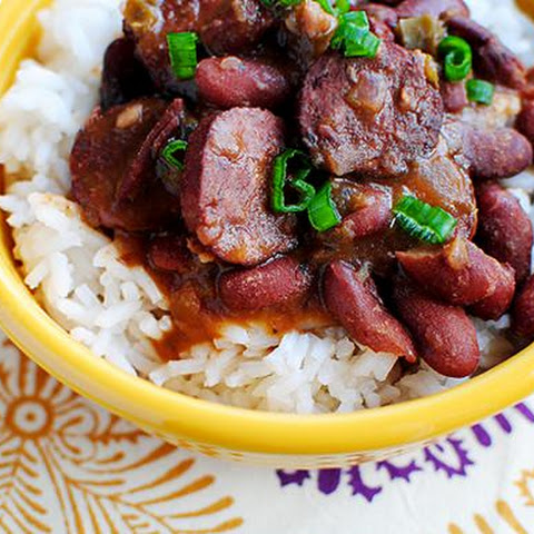 Crock Pot Red Beans & Rice