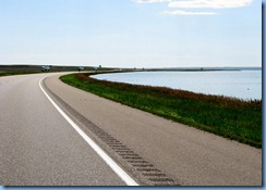 2033 Saskatchewan TC-1 East Reed Lake - a saline lake