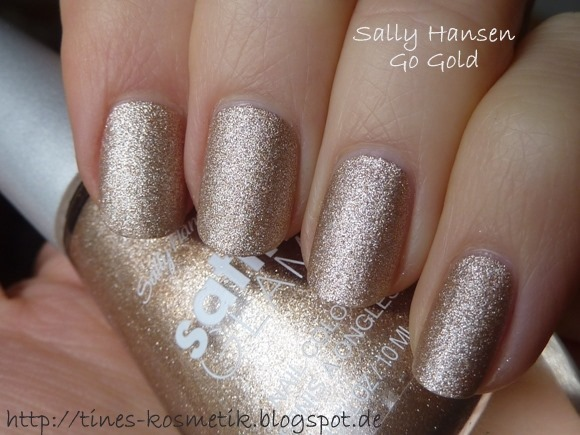 Sally Hansen Go Gold 1
