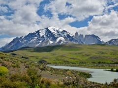 The Torres del Paine massif, Chile.