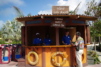 This booth is at the 2nd tram stop, down near Pelican Point.