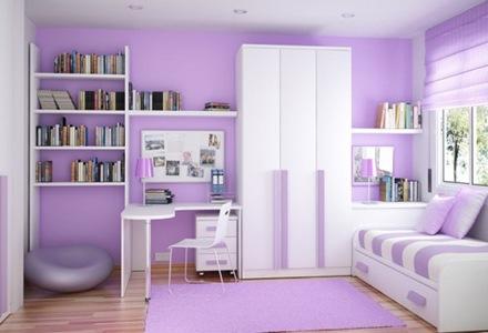 12 Espacios interiores decoradas en tono violeta