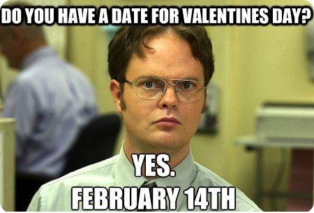 Dwight Valentine meme :)