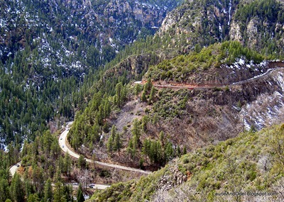 Oak Creek Canyon switchbacks