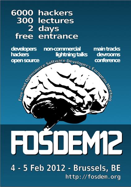 Fosdem 2012 info
