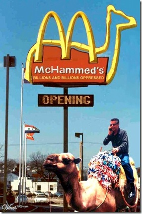 McHammad's Camel Drive-Thru