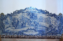 Glória Ishizaka - Mosteiro de Alcobaça - 2012 - Sala dos Reis - azulejo 10