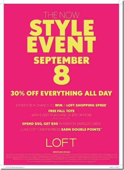 LOFT Style Event