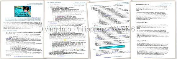 Philippians Week 6