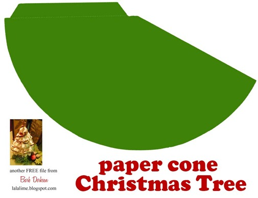 Christmas Tree Cone Template The life of mrs. miles: craft sale update ...