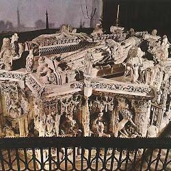 97 - Gil de Siloe - Sepulcro de D. Juan II e Isabel de Portugal en la Cartuja de Miraflores de Burgos