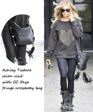 Ashley-Tisdale-visits-Nine-Zero-One-Salon-April-25-wearing-sweatshirt-with-studded-heart-design-black-tight-black-fringe-crossbody-bag1