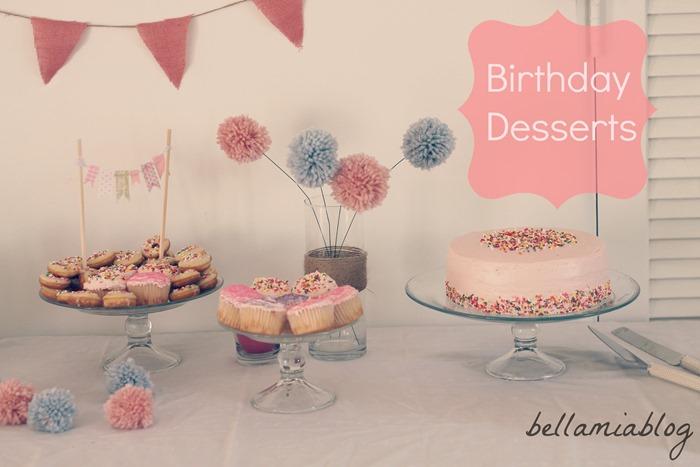 pink dessert table