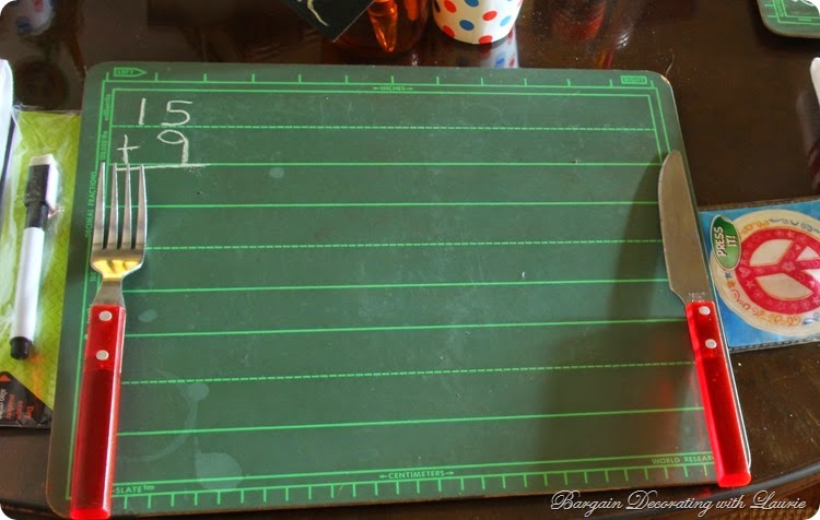 Back 2 School Table 2