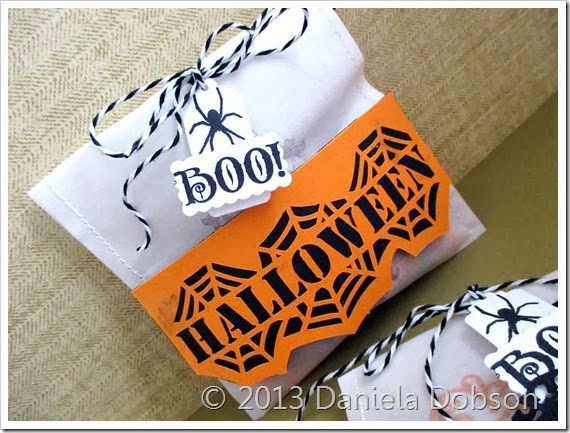 Halloween treat bag 2 by Daniela Dobson