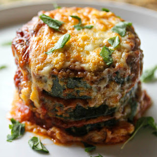 Zucchini Stacks in the Style of Eggplant Parmesan