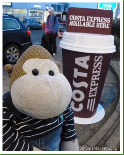 Giant Costa Coffee Cup