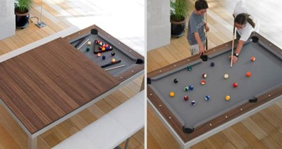 8. DINING TABLE - POOL TABLE 2