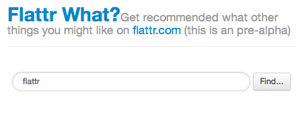 Flattr What