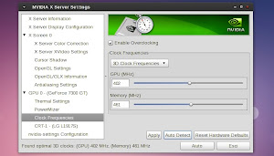 Nvidia in Linux e l'opzione overclocking