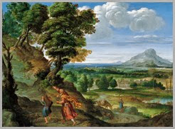 Sacrifício de Isac no Monte Moriá