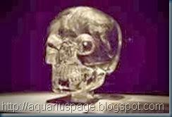 crânio de cristal inglês