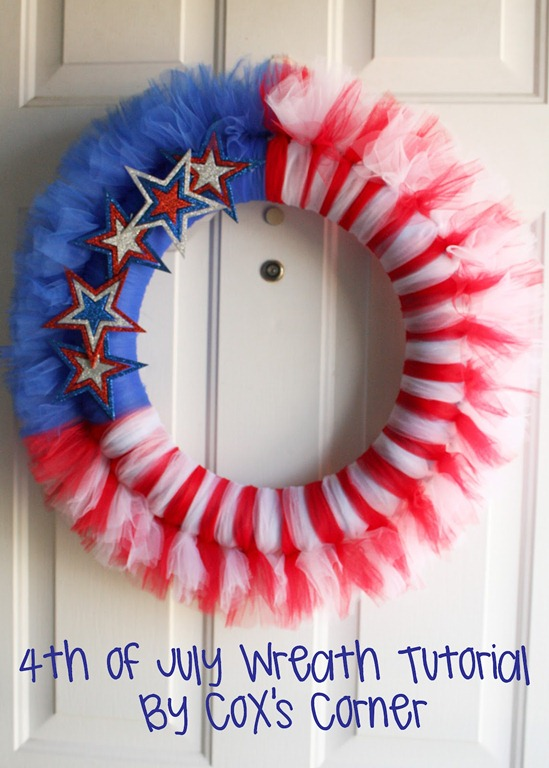 57 wreath for July 4th