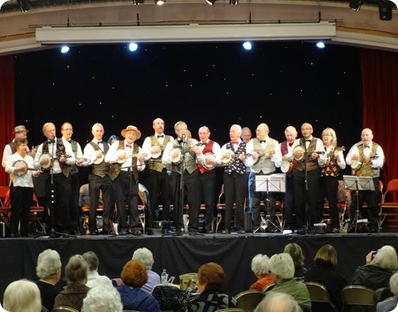 South Cheshire George Formby Ukulele Society at Nantwich Civic Hall