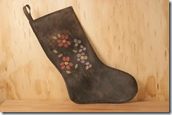 stocking antique black