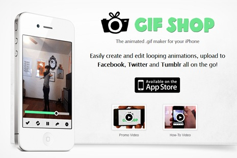 gif shop iphone