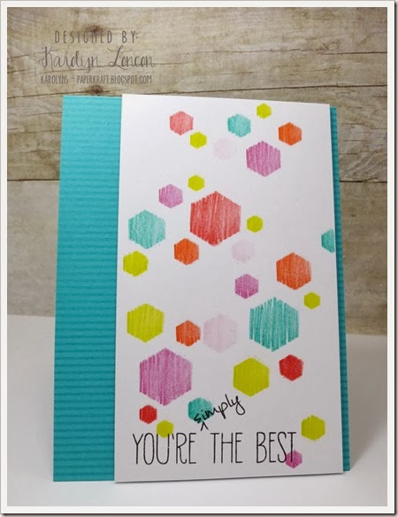 Stenciling - Youre Simply the Best