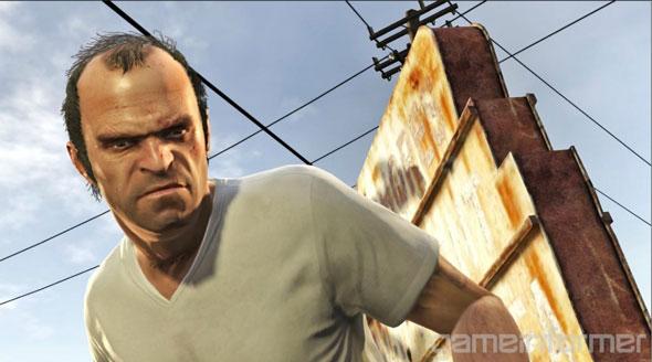GTA V personagem Trevor é um ex-militar e também usuário de drogas e está bem perto de completar seus 40 anos de idade.