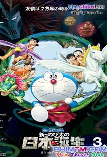 Doraemon: Nước Nhật Thời Nguyên Thủy - Doraemon The Movie 36: Nobita And The Birth Of Japan Tập 1080p Full HD