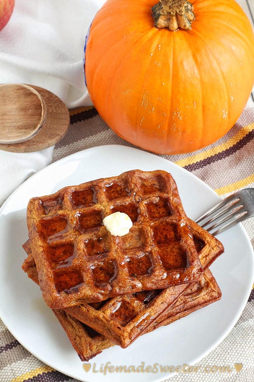 Pumpkin Puree Waffles And Pumpkin Puree – Almost