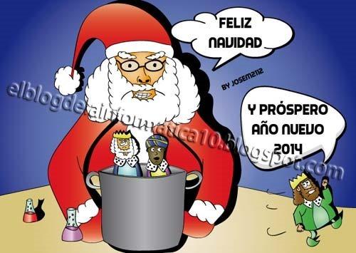 Felicitación de navidad 2013/2014 diseñada por @josem2112