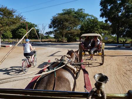 Trafic prin Bagan