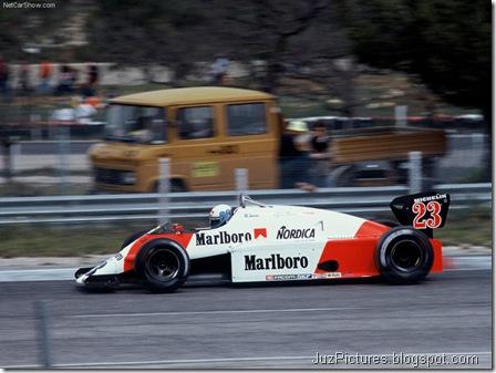 Alfa Romeo 182 T Formula 1 - Side,2