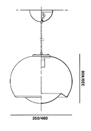 Bud hanging lamp schematic