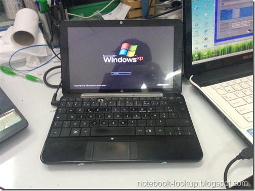 ตั้งค่า Keyboard Layout แบบ AZERTY ของ Compaq mini 700