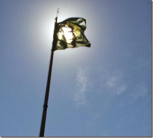 Bandeira em trapos
