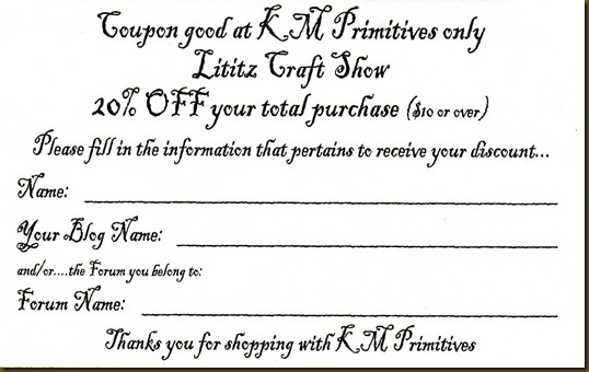 coupon for show 1