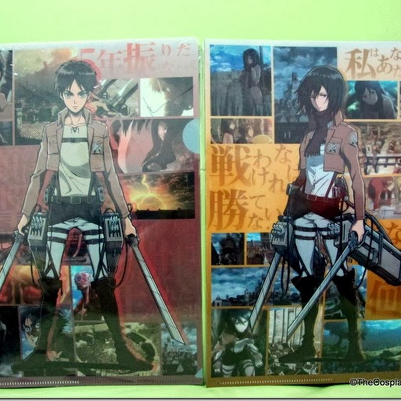 Shingeki no Kyojin Folder giveaway Result!
